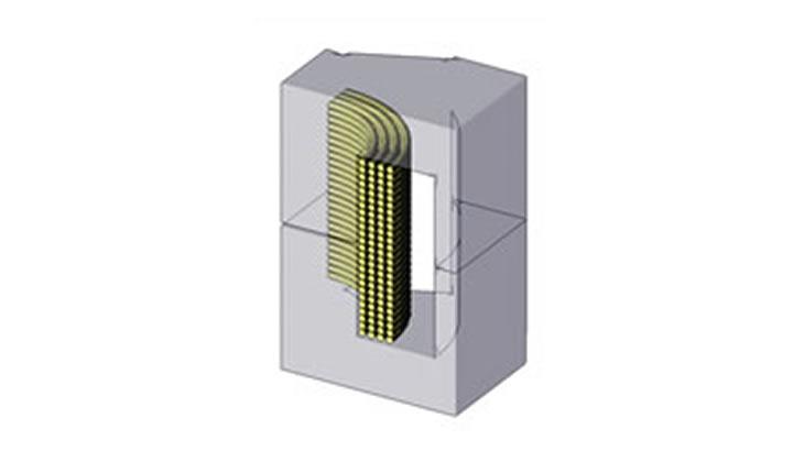 コイルの電流密度分布解析
