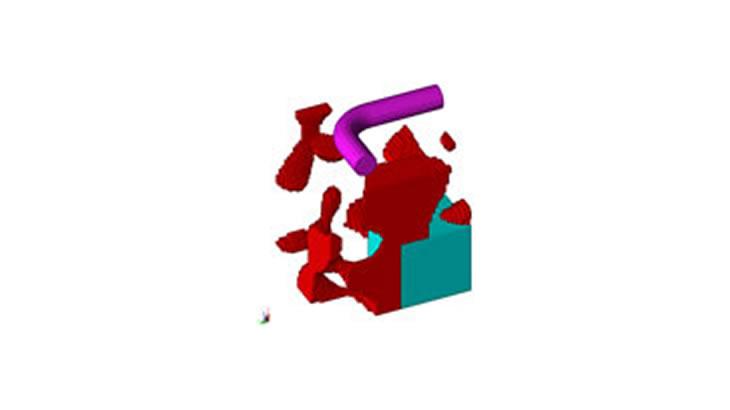 ON/OFF法を用いた3次元形状のトポロジー最適化事例