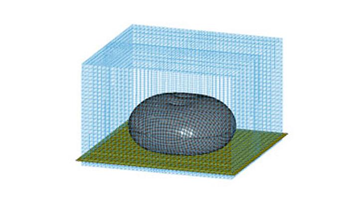 【流体構造連成問題】流体圧力と構造変形による相互作用