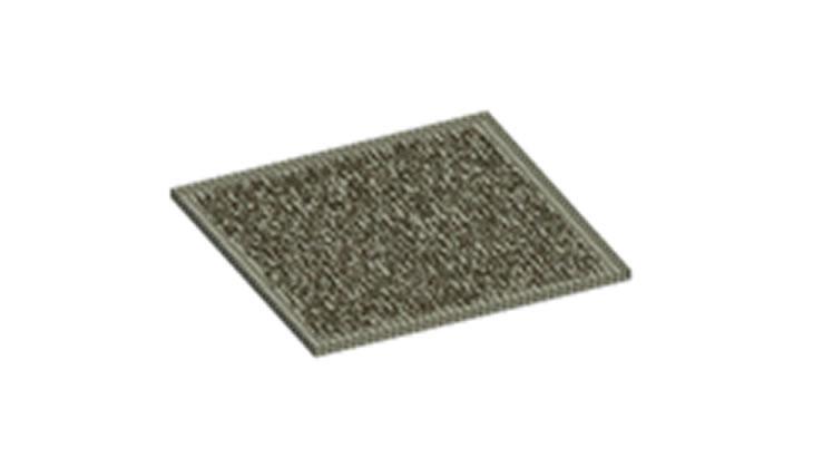 【LagrangeとEulerの連成問題】 複合材料板の母材とフィラーの熱構造連成解析
