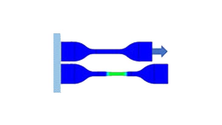 Bézier曲線を利用した、塑性ポアソン比カーブの同定