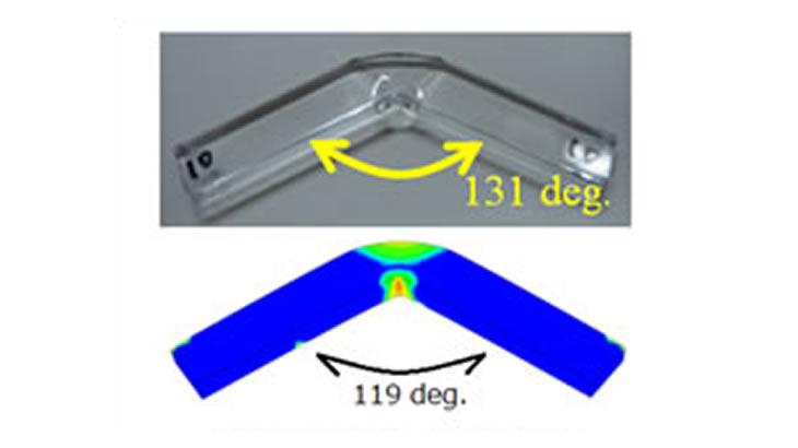 樹脂用材料構成則MAT_SAMP-1 損傷特性の考慮