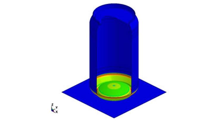空き缶の座屈解析