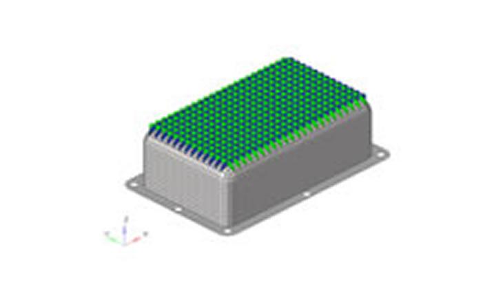 自動車部品の補強リブ形状最適化