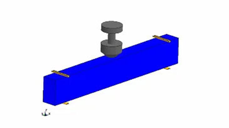 鉄筋コンクリート梁への落錘衝撃解析