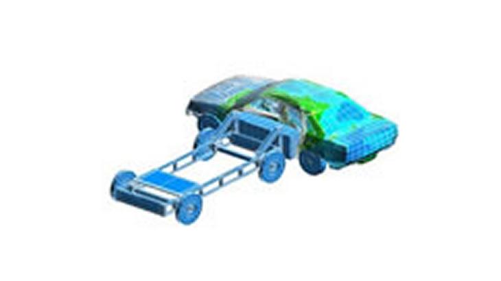 衝突解析 自動車のサイドクラッシュ